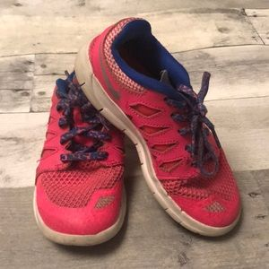 Girls Pink Nike Sneakers Size 12
